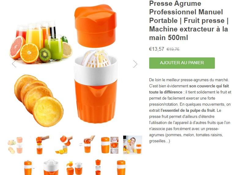 presse_agrume_professionnel_manuel