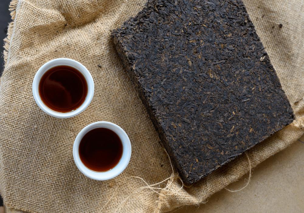 thé puerh vs café